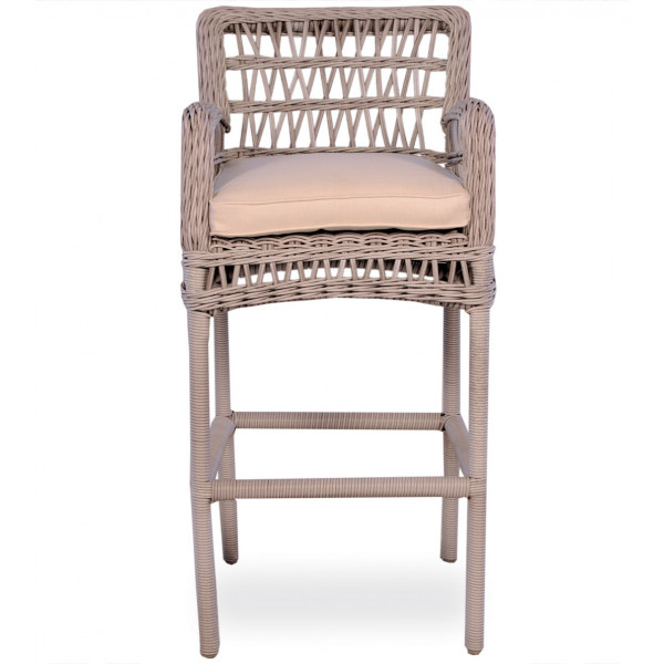 Lloyd Flanders Mackinac Wicker Bar Chair