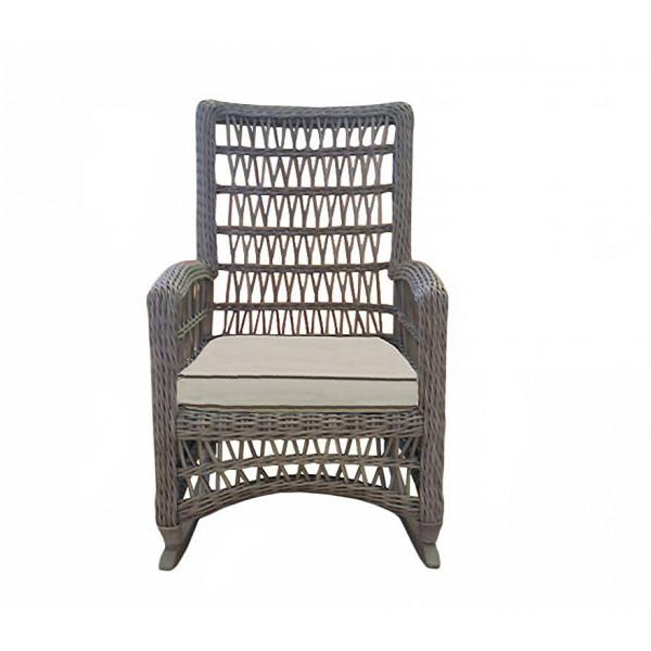 Lloyd Flanders Mackinac Highback Wicker Rocking Chair