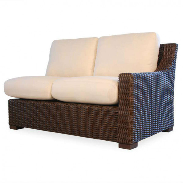Lloyd Flanders Mesa Right Arm Facing Wicker Loveseat - Replacement Cushion