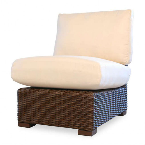 Lloyd Flanders Mesa Armless Wicker Lounge Chair - Replacement Cushion