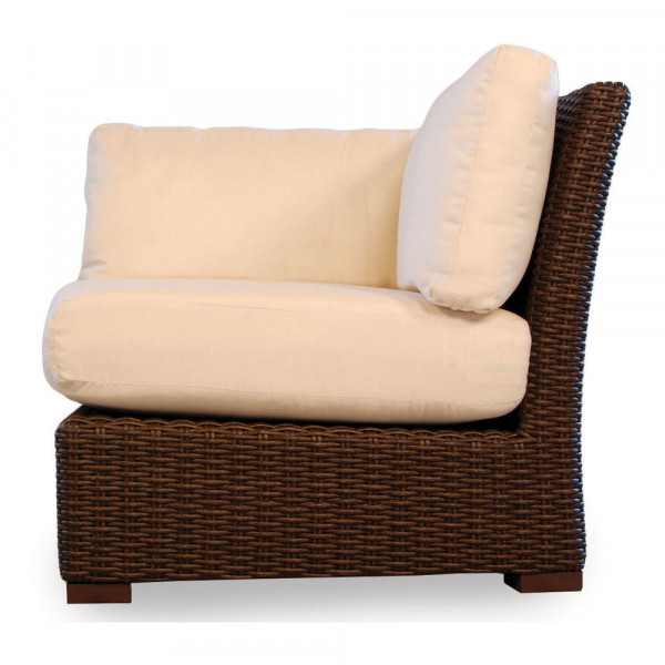 Lloyd Flanders Mesa Wicker Corner Chair