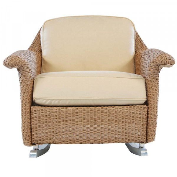 Lloyd Flanders Oxford Wicker Rocking Chair