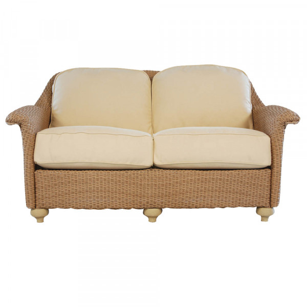 Lloyd Flanders Oxford Wicker Loveseat
