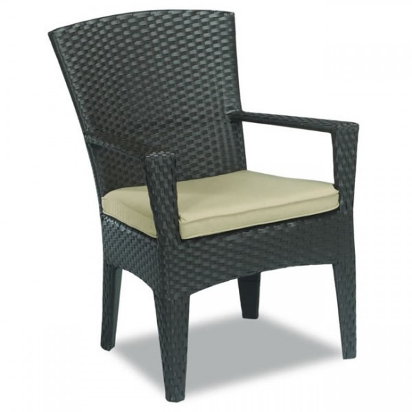 Sunset West Malibu Wicker Dining Chair - Replacement Cushion