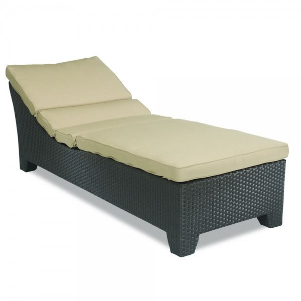 Sunset West Malibu Adjustable Wicker Chaise  Lounge- Replacement Cushion