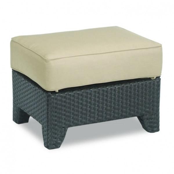 Sunset West Malibu Wicker Ottoman - Replacement Cushion