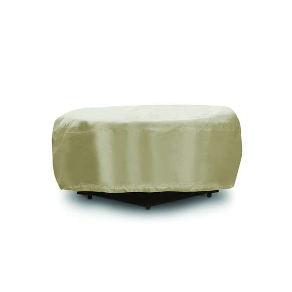 PCI Round Fire Pit Outdoor Furniture Cover - Tan