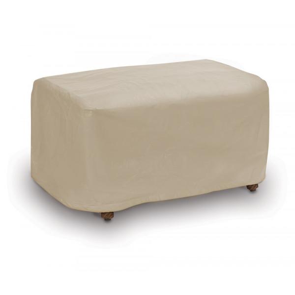PCI Ottoman Outdoor Furniture Cover - Tan