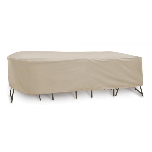 PCI Rectangular Pub Set Outdoor Furniture Cover - Tan