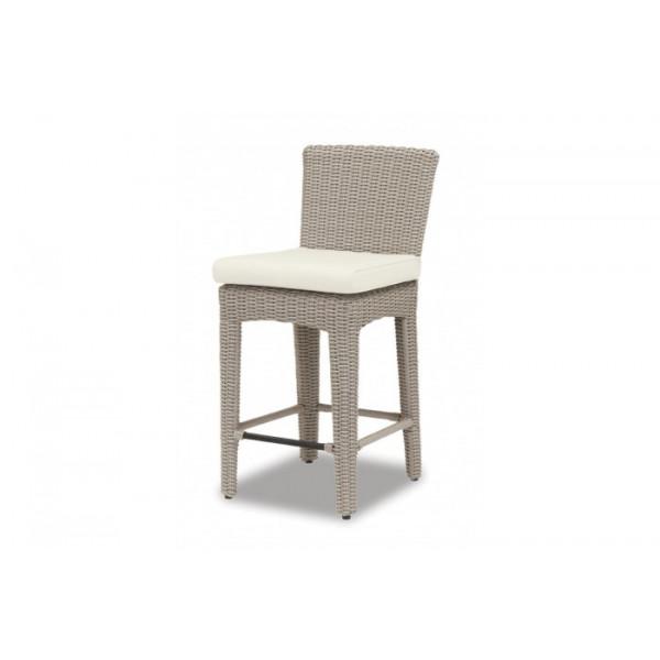 Sunset West Manhattan Wicker Counter Chair Wicker Bar Stools