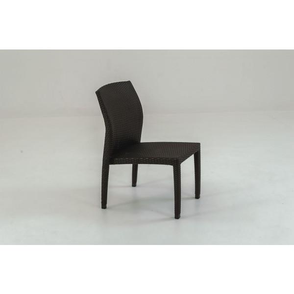 Tropitone Evo Armless Wicker Dining Chair