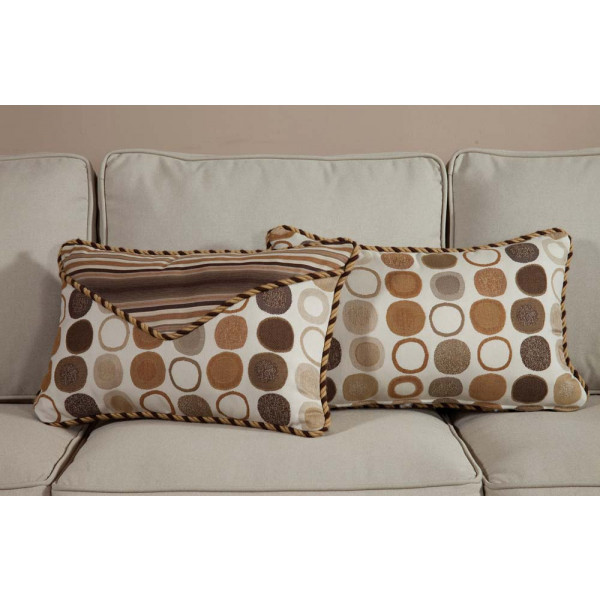 South Sea Rattan All Weather Manchester Small Throw Pillow