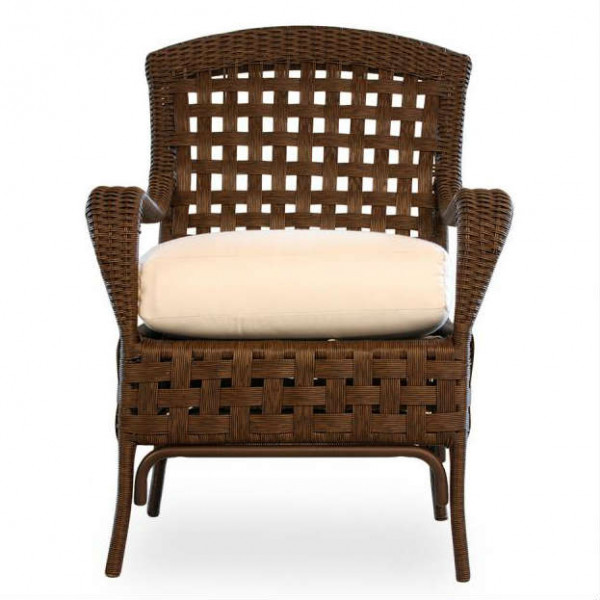 Lloyd Flanders Haven Wicker Dining Chair - Replacement Cushion
