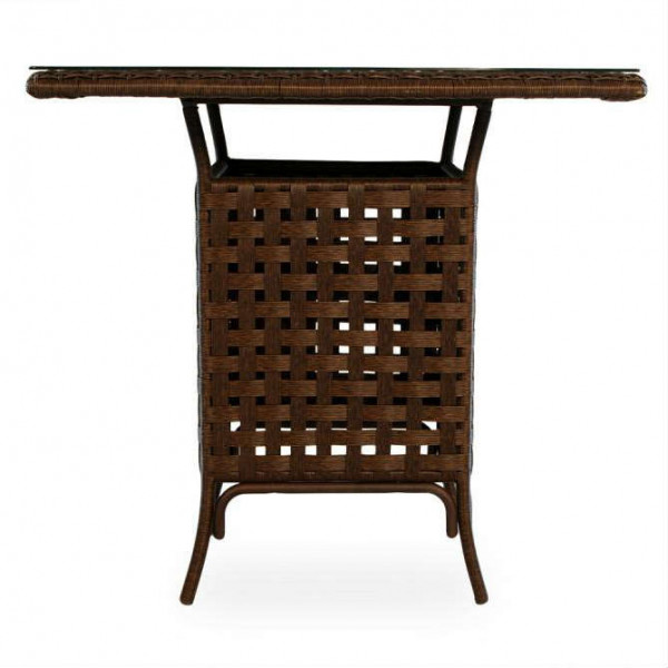 "Lloyd Flanders Haven 42"" Wicker Pub Table"
