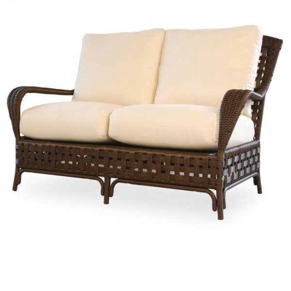 Lloyd Flanders Haven Wicker Loveseat