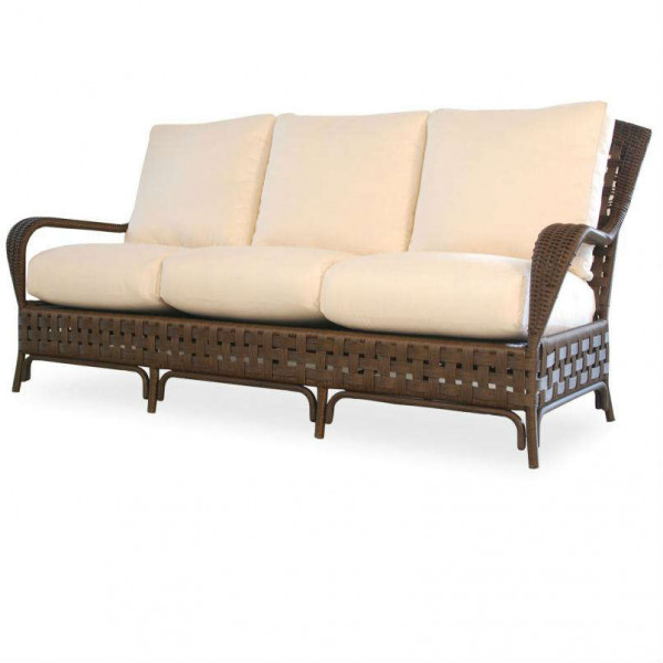Lloyd Flanders Haven Wicker Sofa