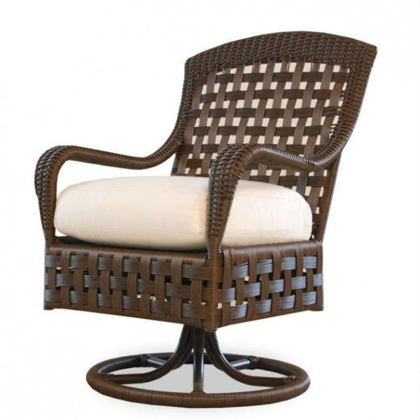 Lloyd Flanders Haven Wicker Swivel Dining Chair - Replacement Cushion