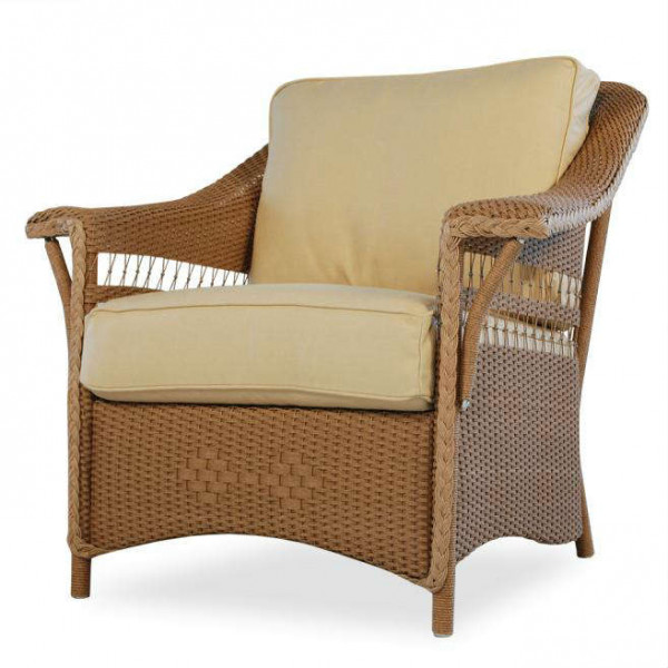 Lloyd Flanders Nantucket Wicker Lounge Chair - Replacement Cushion