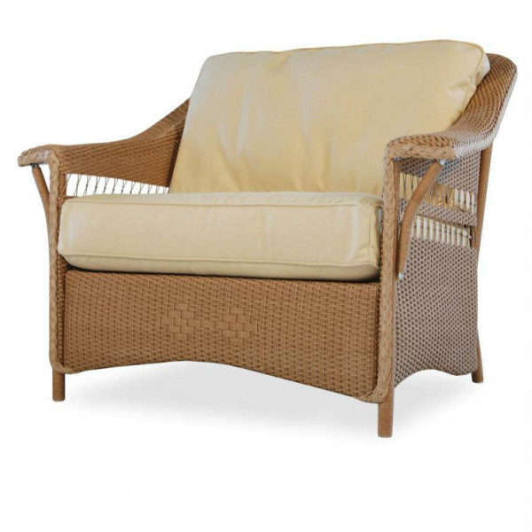 Lloyd Flanders Nantucket Wicker Chair and a Half