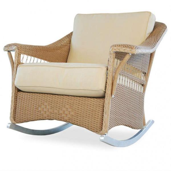 Lloyd Flanders Nantucket Wicker Rocking Chair
