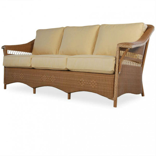Lloyd Flanders Nantucket Wicker Sofa - Replacement Cushion
