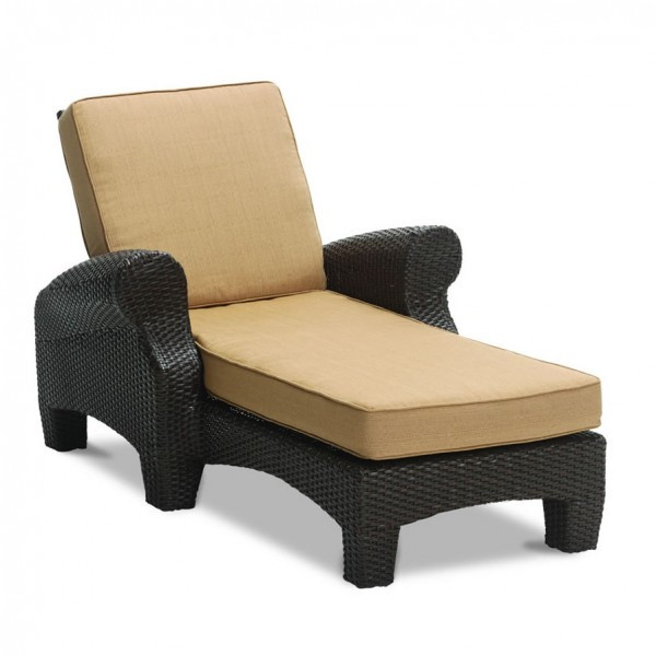 Sunset West Santa Barbara Adjustable Wicker Chaise Lounge - Replacement Cushion