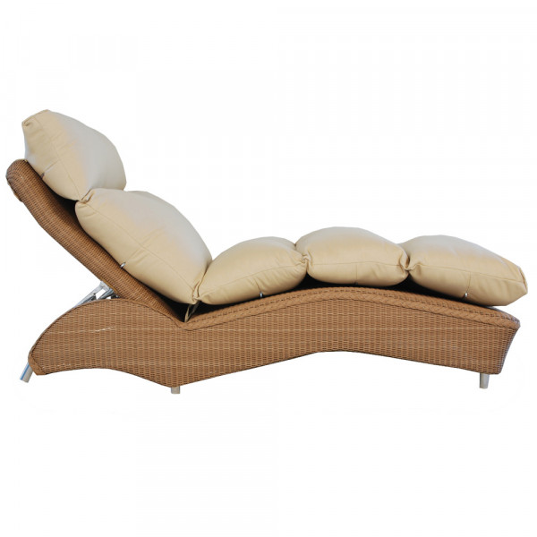 Lloyd Flanders Adjustable Wicker Chaise Lounge - Replacement Cushion