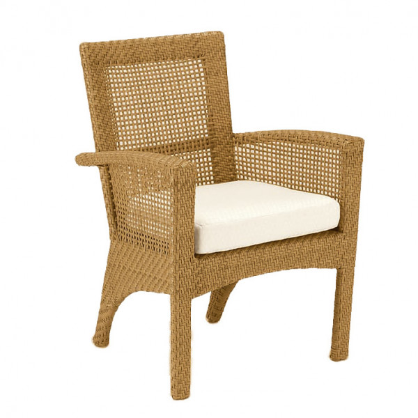 WhiteCraft by Woodard Trinidad Wicker Dining Chair