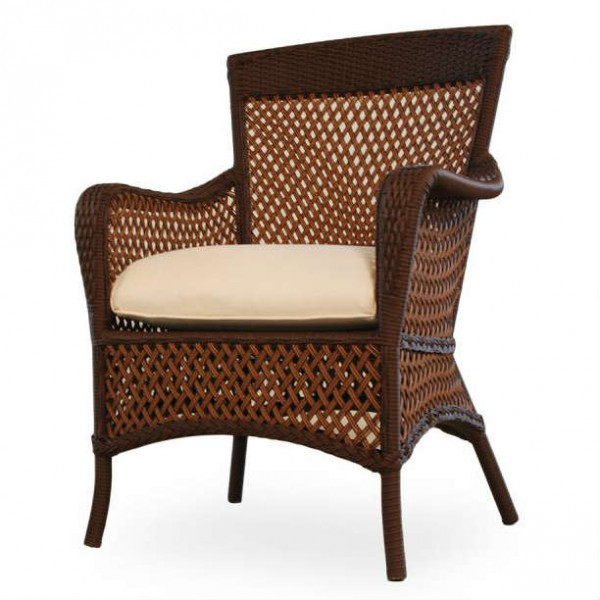 Lloyd Flanders Grand Traverse Wicker Dining Chair - Replacement Cushion