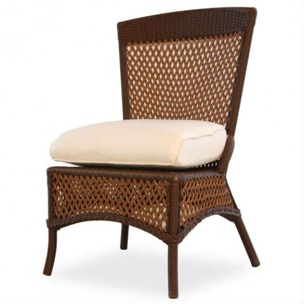 Lloyd Flanders Grand Traverse Armless Wicker Dining Chair - Replacement Cushion