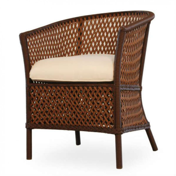 Lloyd Flanders Grand Traverse Wicker Barrel Chair