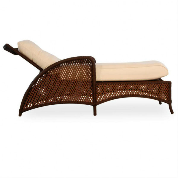 Lloyd Flanders Grand Traverse Adjustable Wicker Chaise Lounge - Replacement Cushion