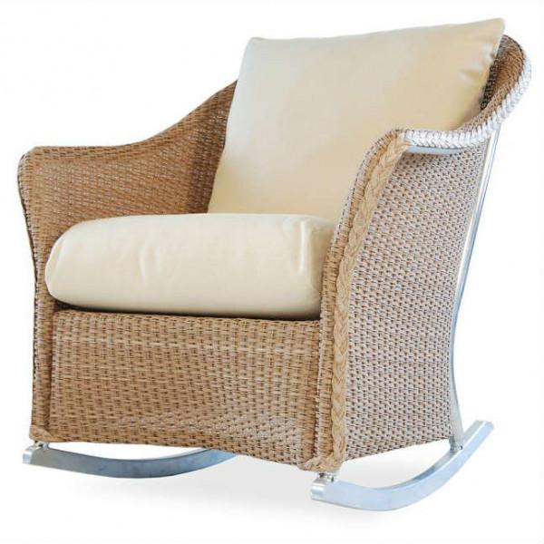 Lloyd Flanders Weekend Retreat Wicker Rocking Chair - Replacement Cushion