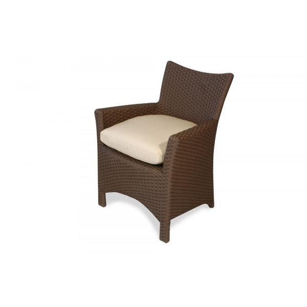 Lloyd Flanders Monaco Wicker Dining Chair - Replacement Cushion
