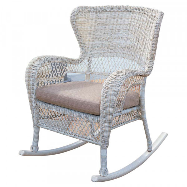 South Sea Rattan Napa Wicker Rocking Chair