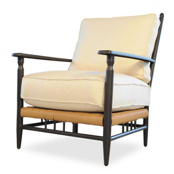 Lloyd Flanders Low Country Wicker Lounge Chair