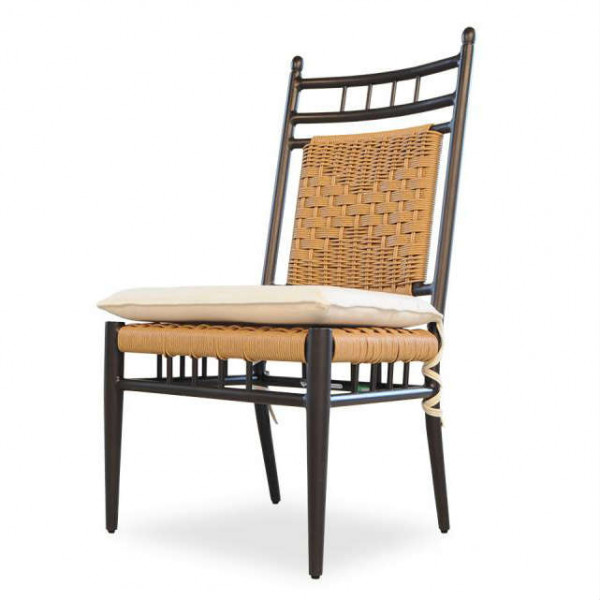 Lloyd Flanders Low Country Armless Wicker Dining Chair