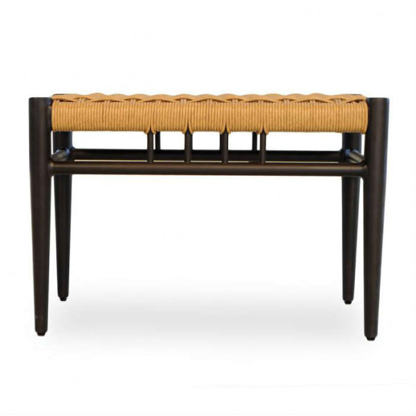 Lloyd Flanders Low Country Small Wicker Bench