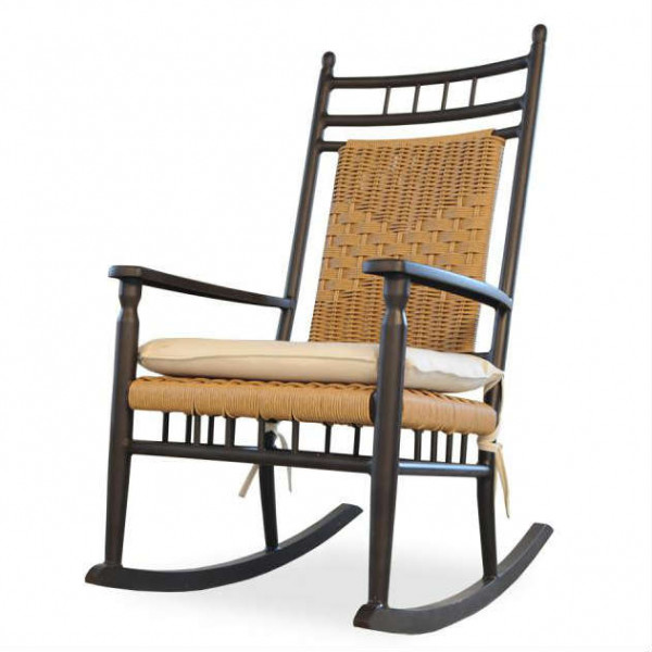 Lloyd Flanders Low Country Wicker Porch Rocker - Replacement Cushion