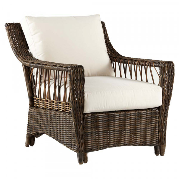 South Sea Rattan Saint John Wicker Lounge Chair