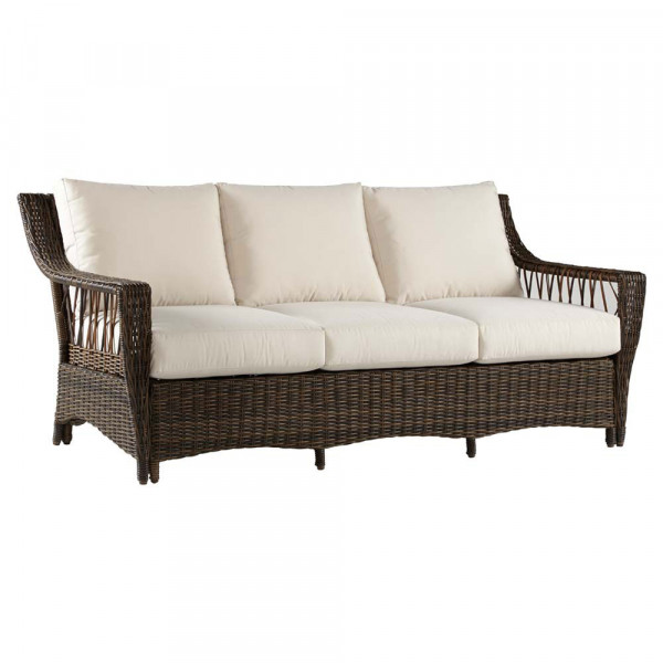 South Sea Rattan Saint John Wicker Sofa