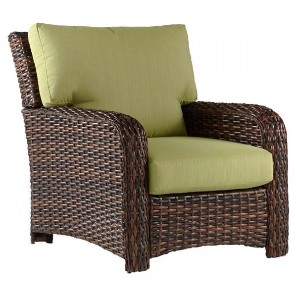 South Sea Rattan Saint Tropez Wicker Lounge Chair
