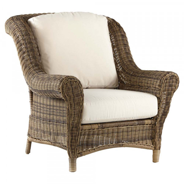 South Sea Rattan Provence Wicker Lounge Chair