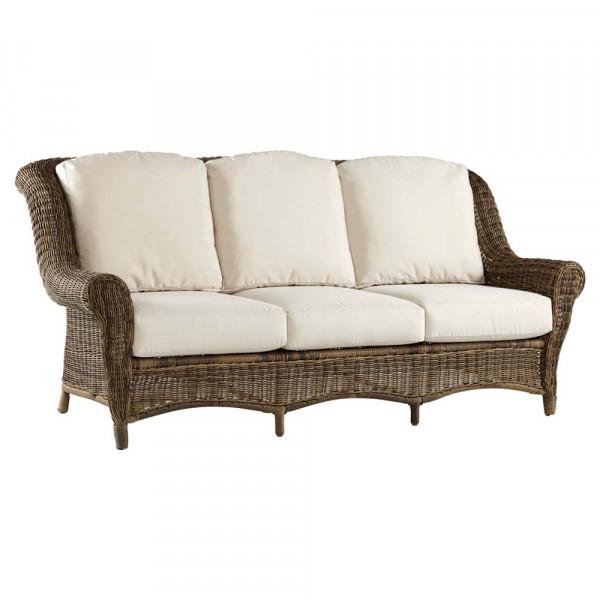 South Sea Rattan Provence Wicker Sofa