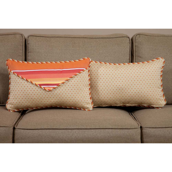 South Sea Rattan All Weather Fiesta Small Throw Pillow