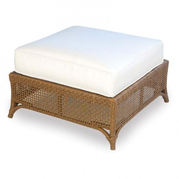 Lloyd Flanders Carmel Wicker Ottoman - Replacement Cushion