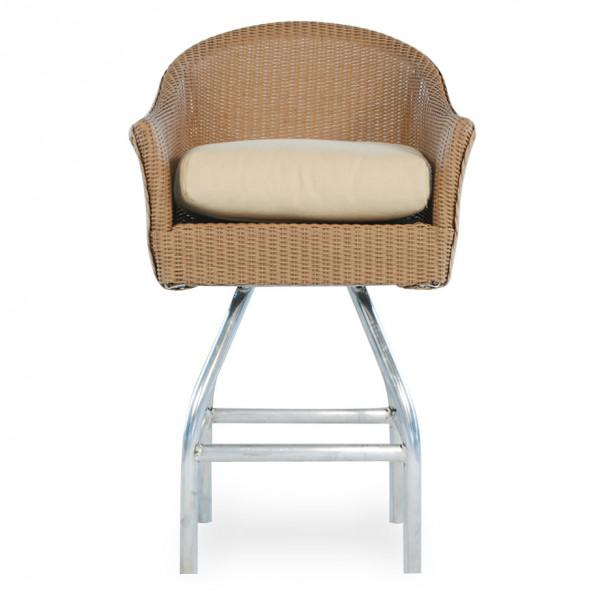 "Lloyd Flanders 28.5"" Wicker Bar Chair - Replacement Cushion"