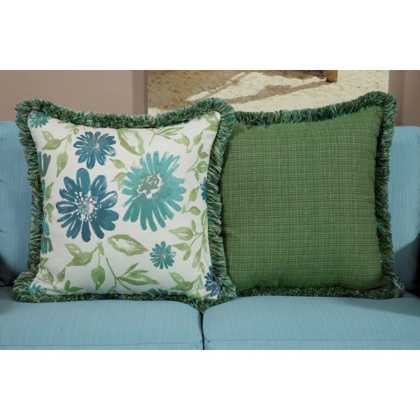 South Sea Rattan All Weather Baltic Large Throw Pillow