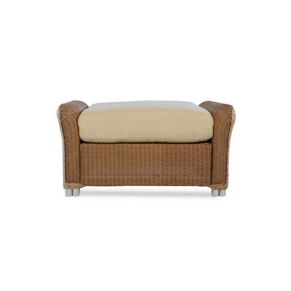Lloyd Flanders Reflections Wicker Ottoman - Replacement Cushion