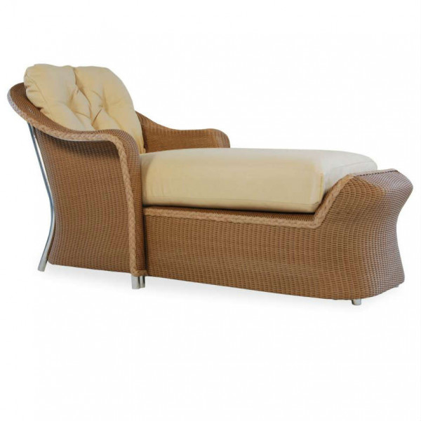 Lloyd Flanders Reflections Wicker Chaise Lounge